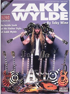 Zakk Wylde: Guitar Legendary Licks (Book and CD) Books and CDs | Guitar Tab