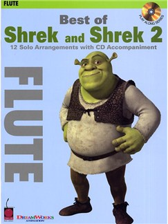 Best Of Shrek And Shrek 2 - Instrumental Solos (Flute) Books and CDs | Flute
