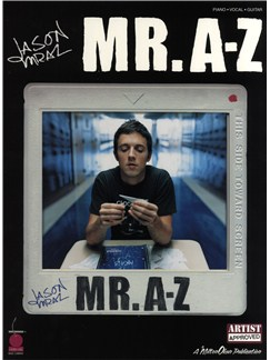 Jason Mraz: Mr. A-Z Books | Piano, Vocal & Guitar