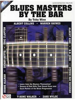 Toby Wine: Blues Masters By The Bar Books and CDs | Guitar