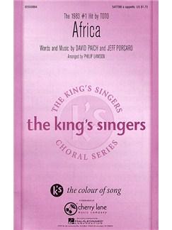 Toto: Africa (SATTBB) Buch und Digitale Audio | SATB (Gemischter Chor)