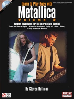 Learn To Play Bass With Metallica - Volume 2 Books and CDs | Guitar Tab