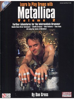 Learn To Play Drums With Metallica - Volume 2 Books and CDs | Drums