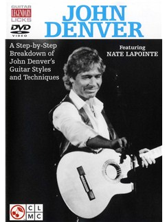 John Denver: Legendary Licks DVDs / Videos | Guitar