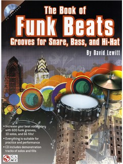 David Lewitt: The Book Of Funk Beats Books and CDs | Drums