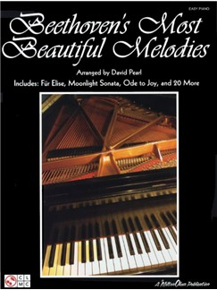Beethoven's Most Beautiful Melodies Books | Piano