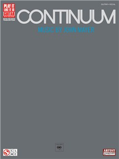 John Mayer: Continuum (Play It Like It Is Guitar) Books | Guitar Tab (with Chord Symbols)