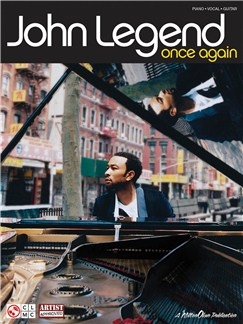 John Legend: Once Again (PVG) Books | Piano, Vocal & Guitar (with Chord Boxes)