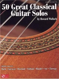 50 Great Classical Guitar Solos Books | Guitar Tab, Classical Guitar