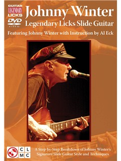 Johnny Winter: Legendary Licks - Slide Guitar DVDs / Videos | Guitar
