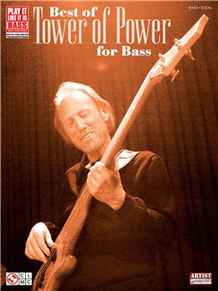 The Best of Tower of Power for Bass Books | Bass Guitar Tab