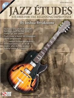 Jazz Études: Studies For The Beginning Improviser Books and CDs | Guitar