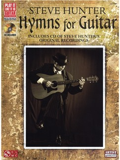 Steve Hunter: Hymns For Guitar Books and CDs | Guitar Tab