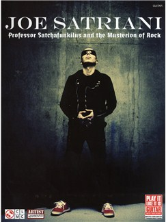 Joe Satriani: Professor Satchafunkilus and the Musterion of Rock (TAB) Books | Guitar Tab