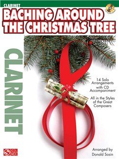 Baching Around The Christmas Tree (Clarinet) Books and CDs | Clarinet, Flute