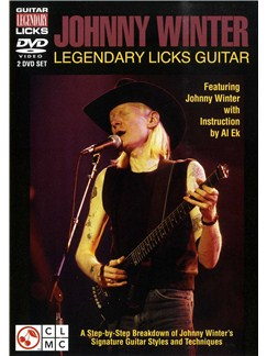 Legendary Guitar Licks: Johnny Winter DVDs / Videos | Guitar