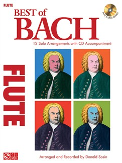 J.S. Bach: Best Of - Flute Books and CDs | Flute