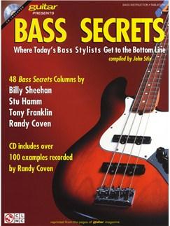 Guitar Magazine Presents: Bass Secrets Books and CDs | Bass Guitar, Bass Guitar Tab