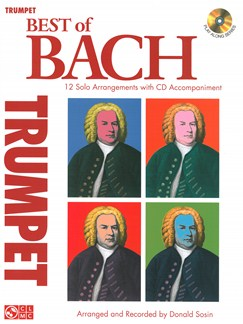 J.S. Bach: Best Of - Trumpet Books and CDs | Trumpet
