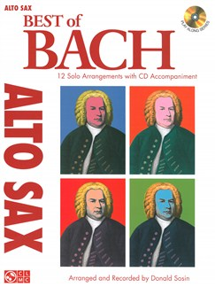 J.S. Bach: Best Of - Alto Saxophone Books and CDs | Alto Saxophone