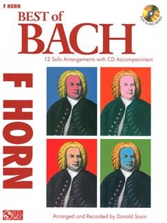 J.S. Bach: Best Of - Horn Books and CDs | French Horn