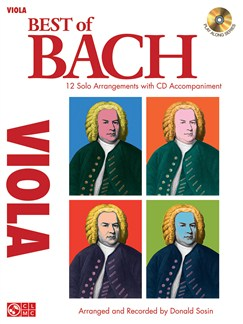 J.S. Bach: Best Of - Viola Books and CDs | Viola