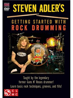Steven Adler's Getting Started With Rock Drumming DVDs / Videos | Drums