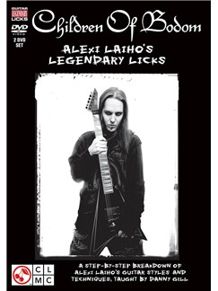 Danny Gill: Children Of Bodom - Alexi Laiho's Legendary Licks DVDs / Videos | Electric Guitar