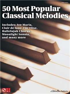 50 Most Popular Classical Melodies Books | Piano