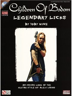 Children Of Bodom: Legendary Licks Books and CDs | Guitar Tab