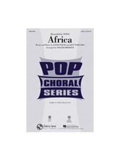 Toto: Africa (2-Part Choir) Books | 2-Part Choir (Accompaniment)/Piano Accompaniment (Accompaniment)/Percussion (Accompaniment)