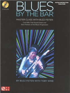 Buzz Feiten: Blues By The Bar - Master Class Books and CDs | Guitar