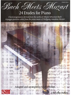 Bach Meets Mozart - 24 Etudes For Piano Books | Piano