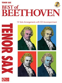 Instrumental Play-Along: The Best Of Beethoven - Tenor Saxophone Books and CDs | Tenor Saxophone