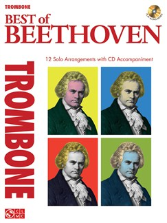 Instrumental Play-Along: The Best Of Beethoven - Trombone Books and CDs | Trombone