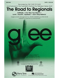 Glee: The Road To Regionals (SATB) Books | SATB, Piano Accompaniment