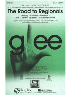 Glee: The Road to Regionals (2-Part) Books | 2-Part Choir, Piano Accompaniment