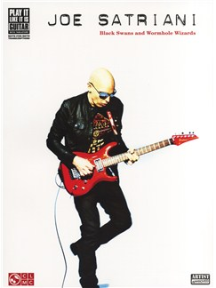Joe Satriani: Black Swans And Wormhole Wizards Books | Guitar Tab