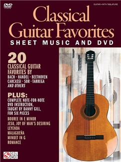 Danny Gill: Classical Guitar Favourites (Book/DVD) Books and DVDs / Videos | Guitar