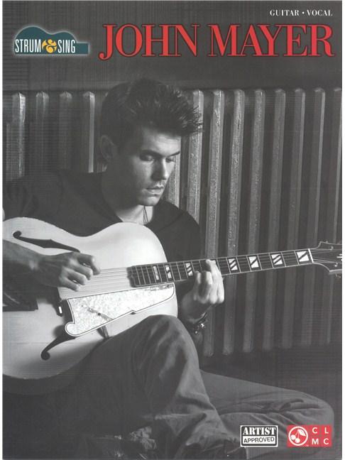 John Mayer: Strum & Sing - Lyrics & Chords Sheet Music - Sheet Music ...