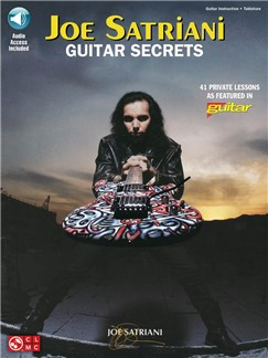 Joe Satriani: Guitar Secrets (Book/Online Audio) Books and Digital Audio | Guitar Tab, Guitar
