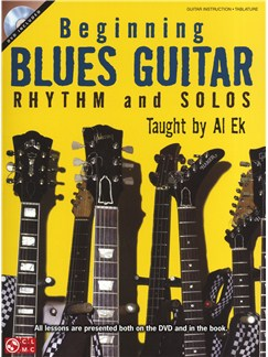 Al Ek: Beginning Blues Guitar - Rhythm And Solos Books and DVDs / Videos | Guitar, Guitar Tab