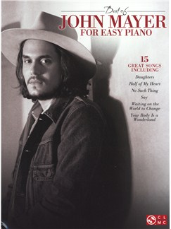 Best Of John Mayer - Easy Piano Books | Piano
