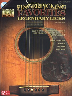 Fingerpicking Favorites: Legendary Licks Books and CDs | Guitar Tab, Guitar