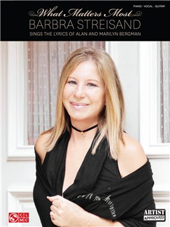 Barbra Streisand: What Matters Most Books | Piano, Vocal & Guitar