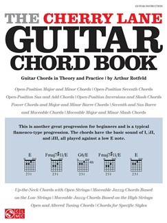 Arthur Rotfeld: The Cherry Lane Guitar Chord Book Books | Guitar