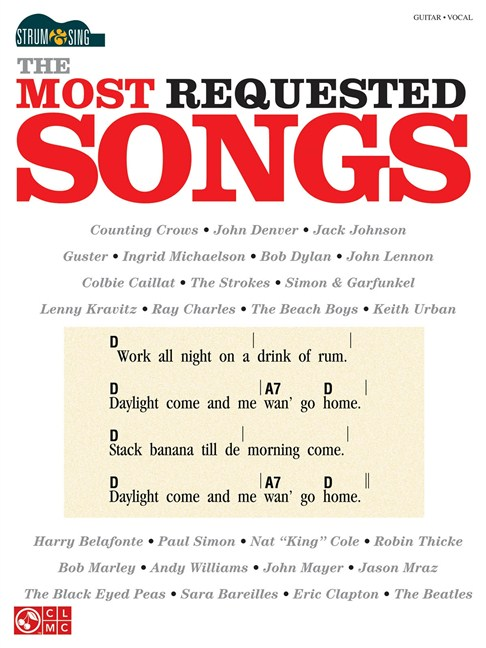 Strum & Sing: The Most Requested Songs - Lyrics & Chords Sheet Music ...