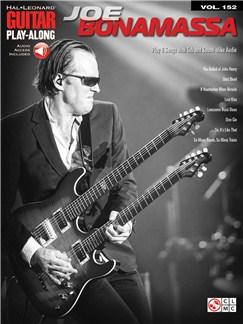 Guitar Play-Along Volume 152: Joe Bonamassa (Book/Online Audio) Books and Digital Audio | Guitar