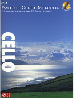 Favorite Celtic Melodies - Cello Books and CDs | Cello