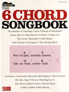 The 6 Chord Songbook - Strum And Sing Books | Lyrics & Chords